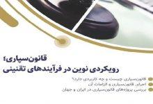 Photo of قانون سپاری؛ بررسی مفهوم و تجربه هایی از ایران و جهان